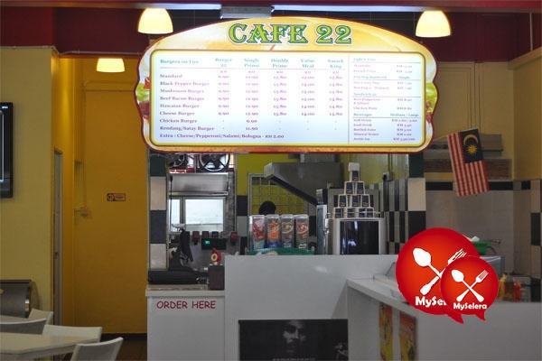 CAFE22 MENU