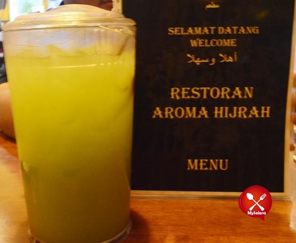 Air Kedondong bersama Asam boi Aroma Hijrah