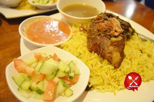 Kabsah Lamb dengan Nasi Mandy Aroma Hijrah