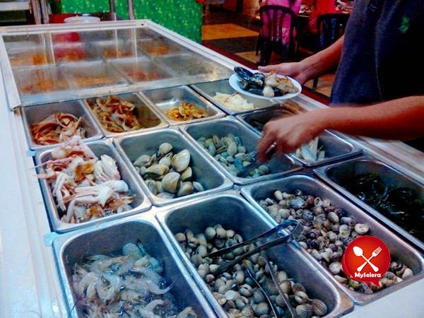 Steamboat Dkayangan Shah Alam Seafood