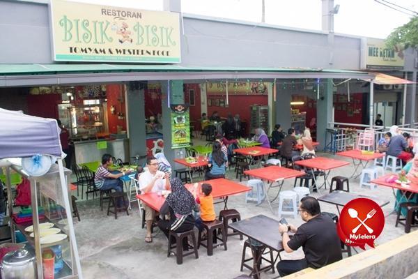 Pelanggan Restoran Bisik-bisik pada waktu petang kerana Asam Pedas Mak Kiah 2