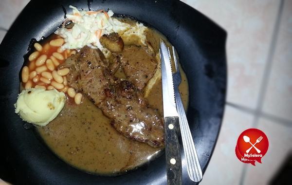 Steak Black Paper Zie Corner