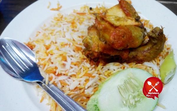 Nasi Mandy Ayam Goreng Restoran Nasi Arab Al Edrus Kuala Terengganu