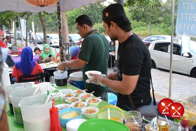 ABC dan Cendol di Buffet Ramadhan D'Kampung Cafe, Anggerik Mall
