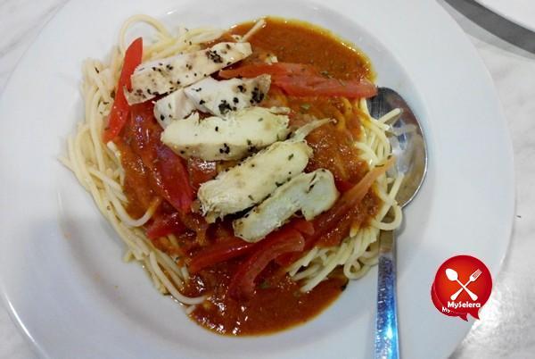 Review Spagheti Flamin Spicy dari Kenny Rogers Roaster sempena ramadan